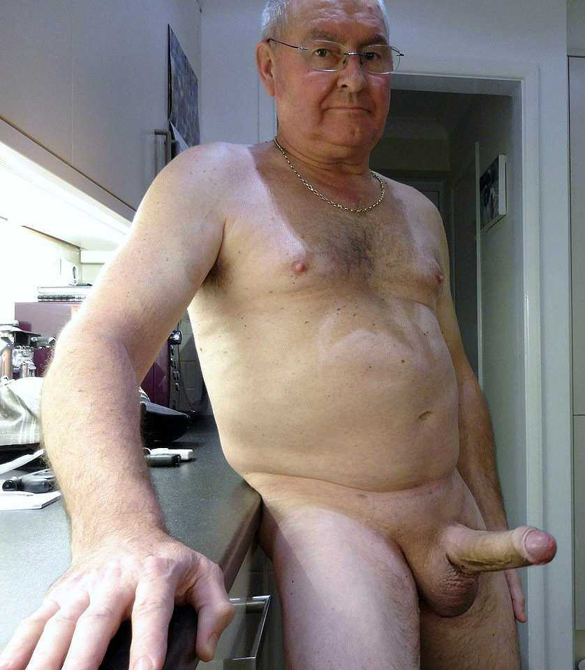 Chubby Old Men With Big Uncut Cocks